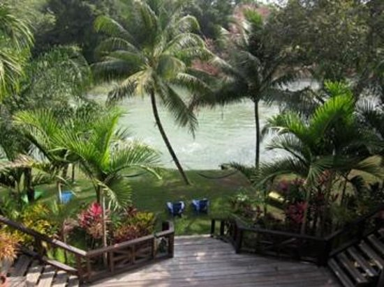 Mahogany Hall Boutique Resort: View from second story