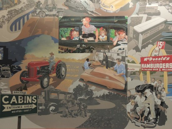 Automotive Hall of Fame: Mural