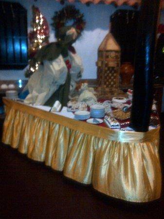 Isla Caribe Beach Hotel: mesa de dulces dia de reyes
