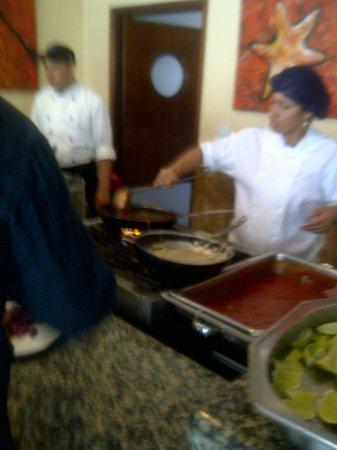 Isla Caribe Beach Hotel: comedor