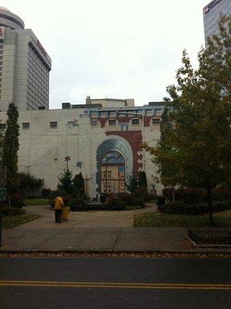 Nashville Public Library: View