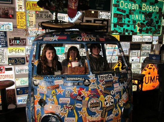 The Vw Bus Seating Picture Of Hodad S San Diego Tripadvisor