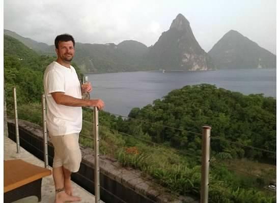 Jade Mountain Resort: enjoying our sanctuary