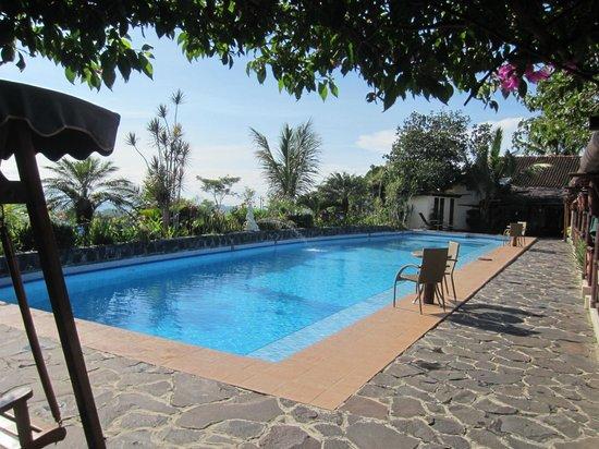 Villa Sumbing Indah: Pas d'effet d'optique ! la piscine est très grande !