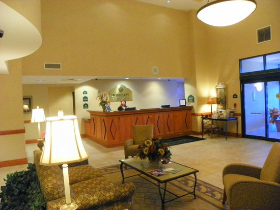 Holiday Inn Express & Suites Lakewood Ranch: Collet on the front desk