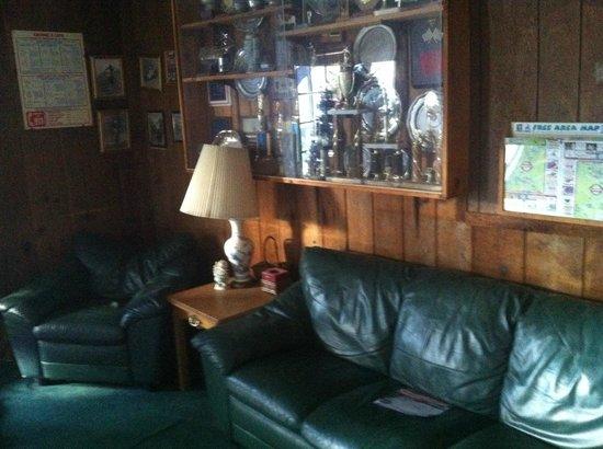 The Garrison: Pool deck/Lounge