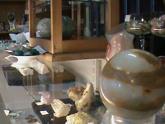 Om Cafe: We sell a wide variety of crystals