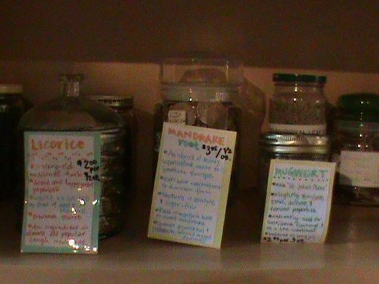 Om Cafe: Check out our Herbal Apothecary