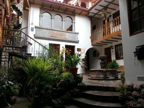 Hotel Rumi Punku: Lovely, quiet courtyard.