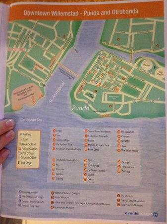 Renaissance Curacao Resort & Casino: Willemstad Map (Near Hotel) 1 of 2