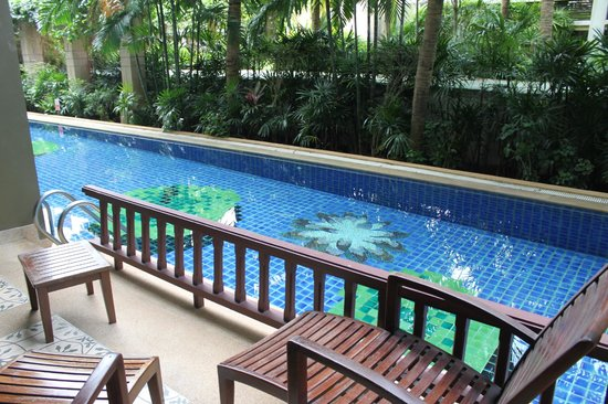 Alpina Phuket Nalina Resort & Spa: Our pool - room access
