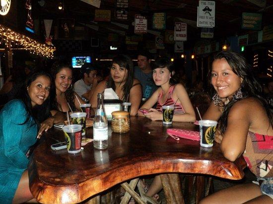 Man Cave Jaco : Clarita's ladies' night picture of beach bar & sports
