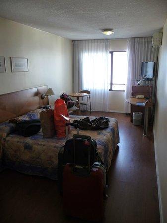 Pocitos Plaza Hotel: Llegando