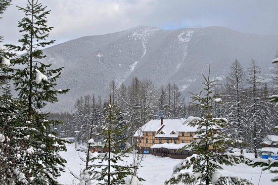 Izaak Walton Inn: View from the ski trails