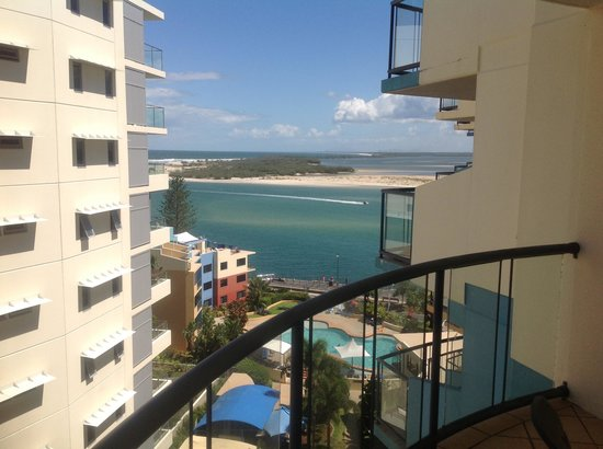 Breakfree Grand Pacific Resort Sunshine Coast: The glories view