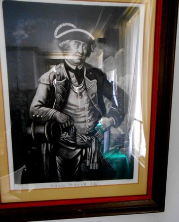 Van Wyck Homestead Museum: Israel Putnam, an American army general during the American Revolutionary War