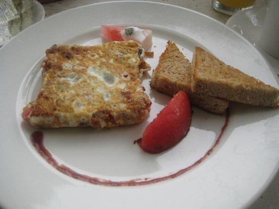 Zoetry Agua Punta Cana : Egg white omelet w mushroom