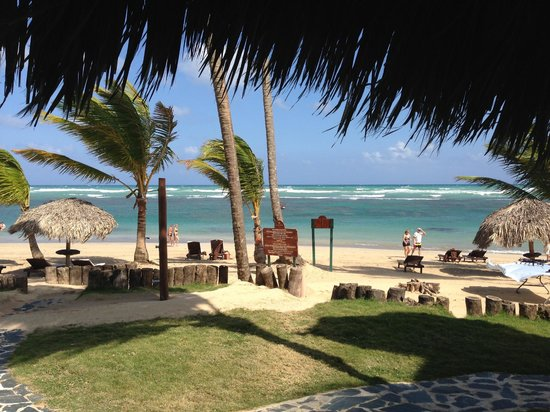 Zoetry Agua Punta Cana: View from the restaurant