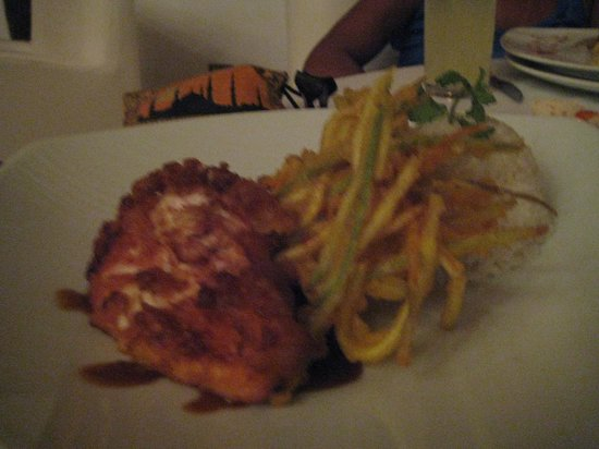 Zoetry Agua Punta Cana: Fired Chicken