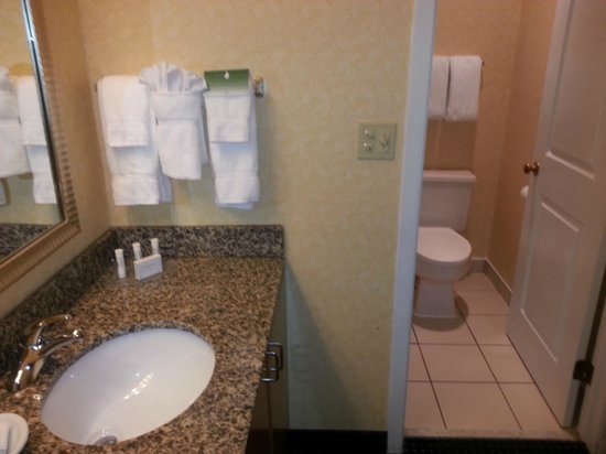 Suites at Northshore: View of Bathroom (Room 114)
