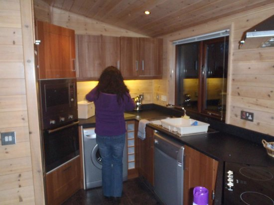 Darwin Forest Country Park: Kitchen Area of Unit