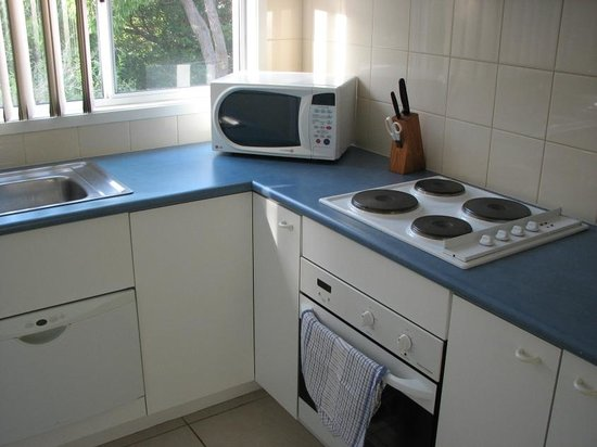 Tathra Beach House : Kitchen in the 2-bedroom townhouse