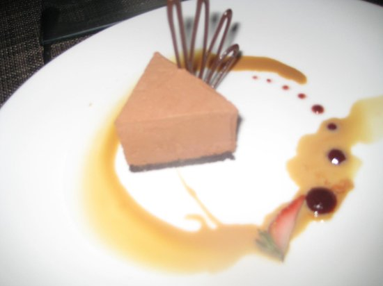 Zoetry Agua Punta Cana : Chocolate Mouse Cake