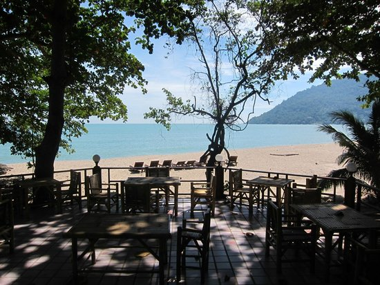 Khanom Hill Resort: View from the restaurant