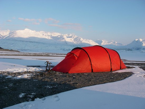 Knik River Lodge: Remote base camps and climber support available