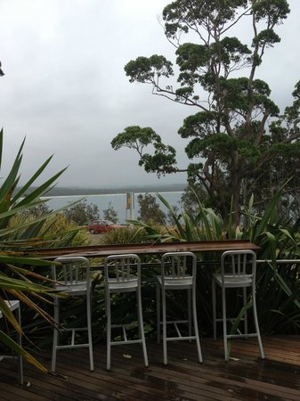 Bannisters by the sea: View from Dining Room