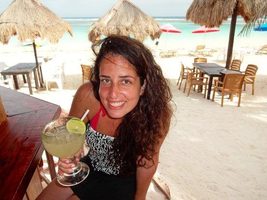 Mahahual Beach : Mahahual...beach bar