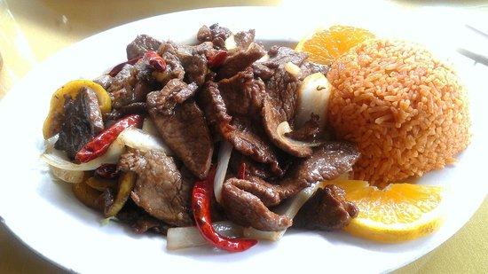 Le Cheval: Orange beef