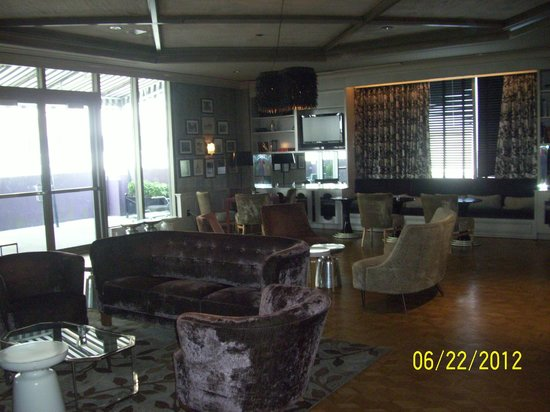 The Chelsea: another sitting area in hotel