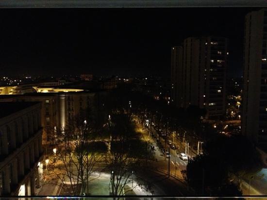بولمان مونتبيلير سنتر: vue de la ville depuis Le 8eme