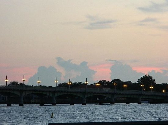 Bayfront Westcott House Bed & Breakfast: Sunrise over Bridge of Lions