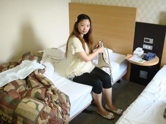 Comfort Hotel Narita: 部屋の写真。