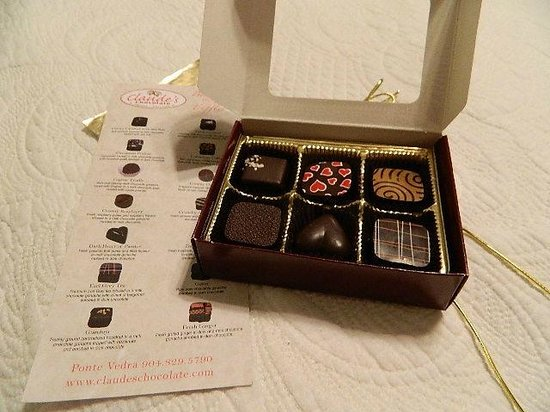 Claude's Chocolate : Unbelievable chocolates