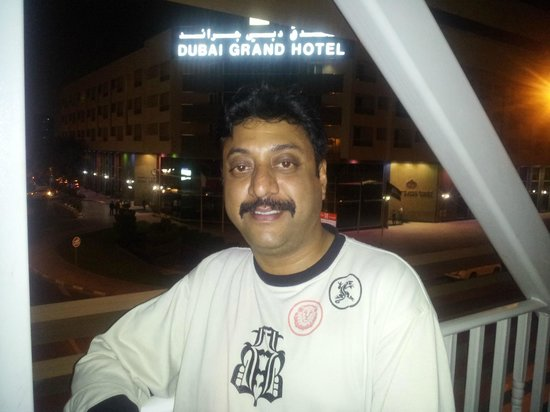 Dubai Grand Hotel By Fortune: on the subway to cross road for super market