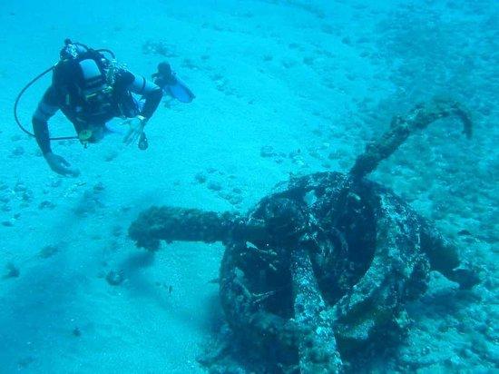 Areamare Diving Center: Il motore d'aereo - Spargi Island