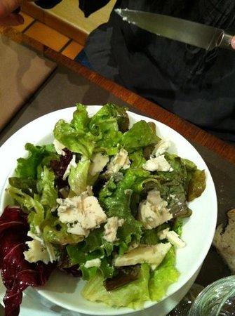 La Lozère : Salade au Roquefort