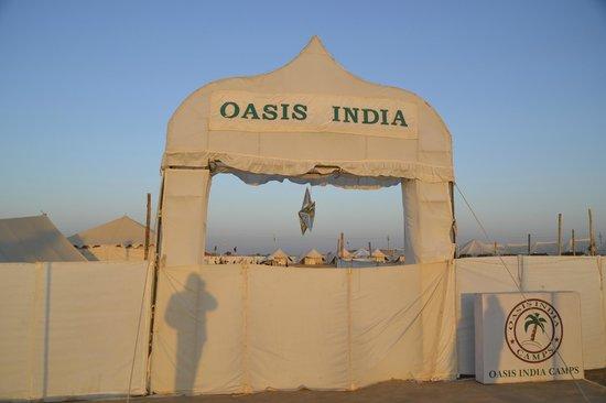 Camp Oasis India : Entrance