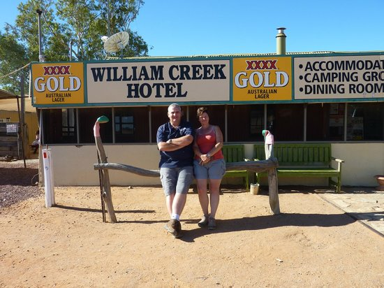 Arid Areas Day Tours: William Creek Hotel, SA