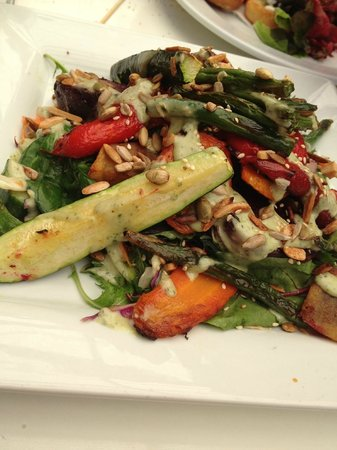 Umu : Roast Vege Salad