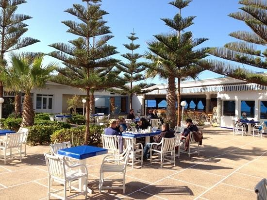 Tiznit, Morocco: terrase in aglou hotel