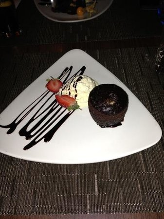 Novotel York Centre: chocolate sponge pudding - very nice