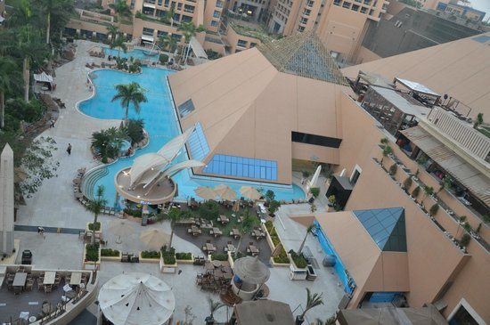 InterContinental Cairo Citystars: vista sulle piscine-Spa
