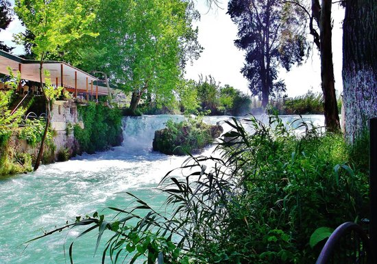 Berdan Waterfalls in Tarsus