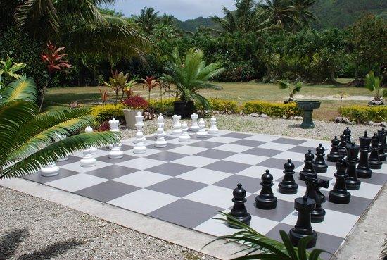 Muri Beach Club Hotel: chess anyone?