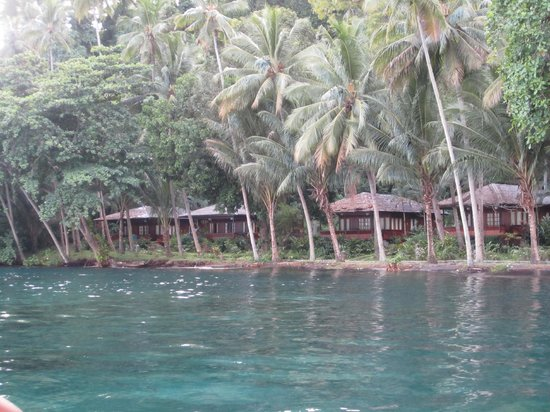 Kungkungan Bay Resort: Beachfront bungalows