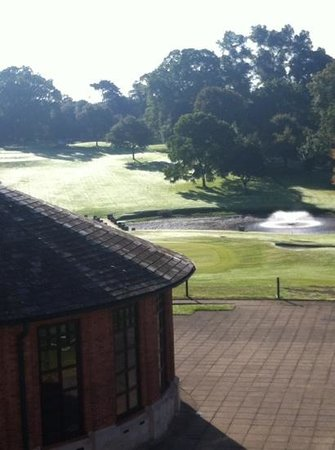 Hilton Puckrup Hall, Tewkesbury: view from our room
